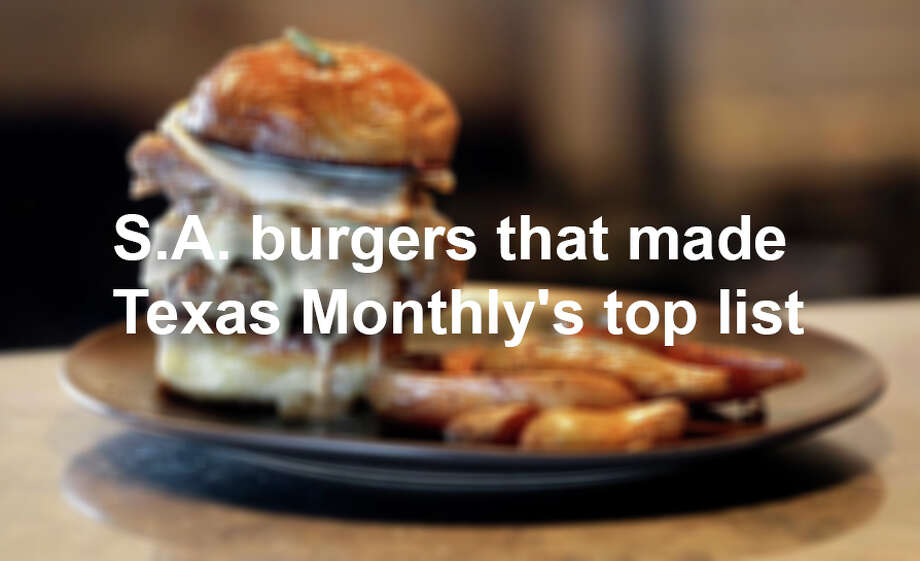 Folc restaurant serves a brisket and pork belly burger named as the best burger in Texas by Texas Monthly.   July 19, 2016. Photo: TOM REEL/SAN ANTONIO EXPRESS-NEWS