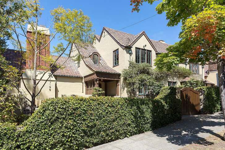 The three bedroom storybook at 1450 Hawthorne Terrace in Berkeley is listed at $3.8 million.