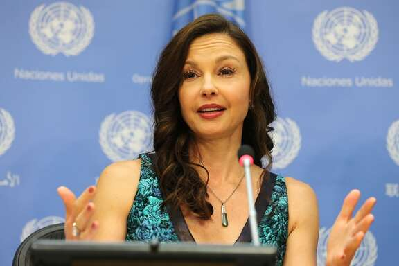 NEW YORK, NY - MARCH 15: Actress/activist Ashley Judd speaks at a press conference held to announce her appointment as The UN Population Fund's (UNFPA) Goodwill Ambassador at United Nations on March 15, 2016 in New York City. (Photo by Jemal Countess/Getty Images)