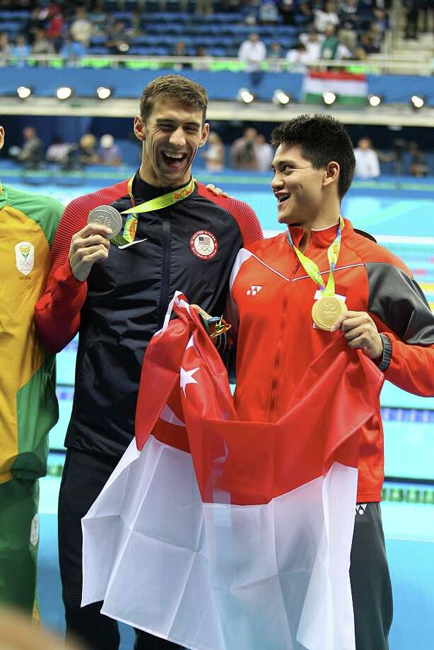 Joseph Schooling- University of Texas juniorSingapore100-meter butterfly: Gold  Photo: Xavier Laine/Getty Images