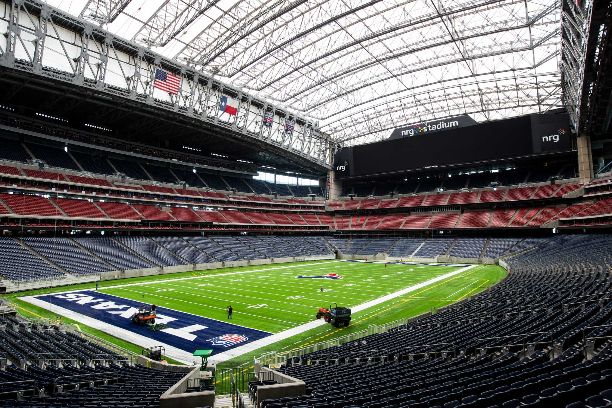 Texans unveil new playing service at NRG Stadium - Houston ...
