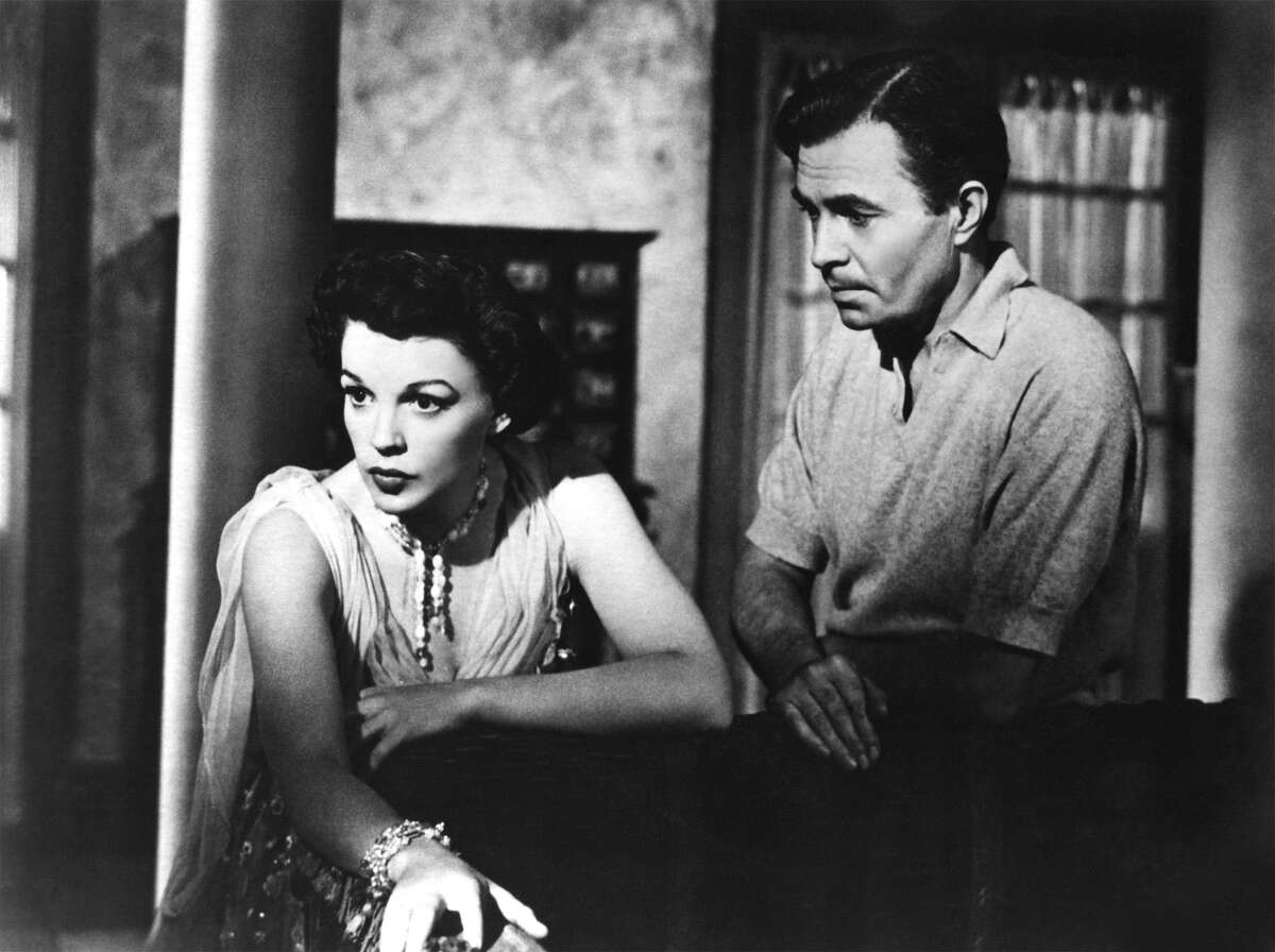 """Judy Garland and James Mason star in the 1954 version of """"A Star Is Born."""""""