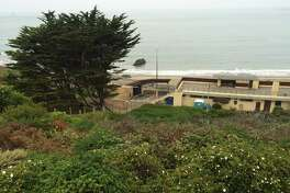 China Beach in San Francisco's Sea Cliff neighborhood was indefinitely closed after two of the beach's portable toilets caught fire on Monday, August 15, 2016.