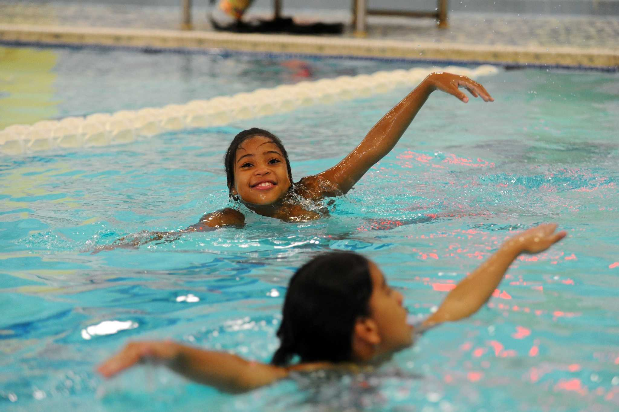 Stamford Kids Overcome Fear Of Water In Swim Safety Class Newstimes