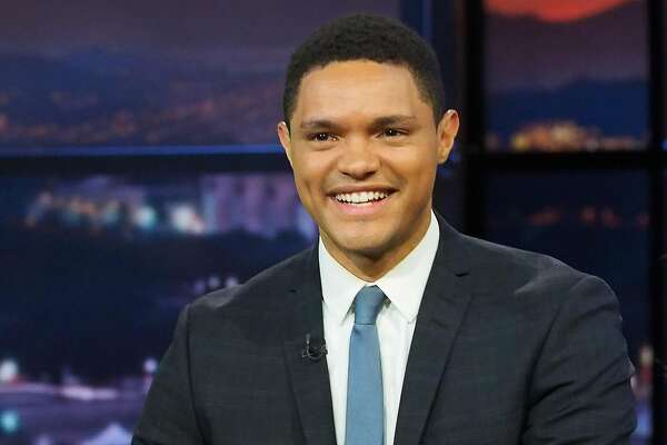 """PHILADELPHIA, PA - JULY 26:  Host Trevor Noah of Comedy Central's """"The Daily Show with Trevor Noah Presents The 2016 Democratic National Convention; Let's Not Get Crazy""""- more to come!- at Annenberg Center for the Performing Arts on July 26, 2016 in Philadelphia, Pennsylvania.  (Photo by Paul Zimmerman/Getty Images for Comedy Central)"""