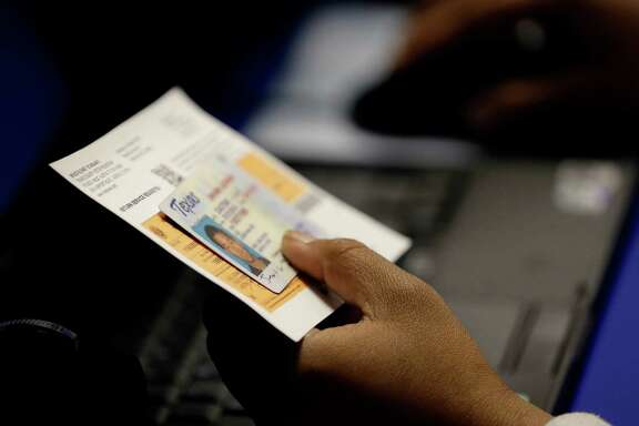 The U.S. 5th Circuit Court of Appeals  ruled in July that Texas' voter ID law was discriminatory to minorities. slk;fjdsal;kfjasl;dfkjsad;lkfjsda;lfkj; asd;lkfjas;lfkjasl;fkjsa;lkfj as;dlkfjasl;d a;sdklfjasdl;kfj as;ldkfjas;lkfjsl;kfjasl;k