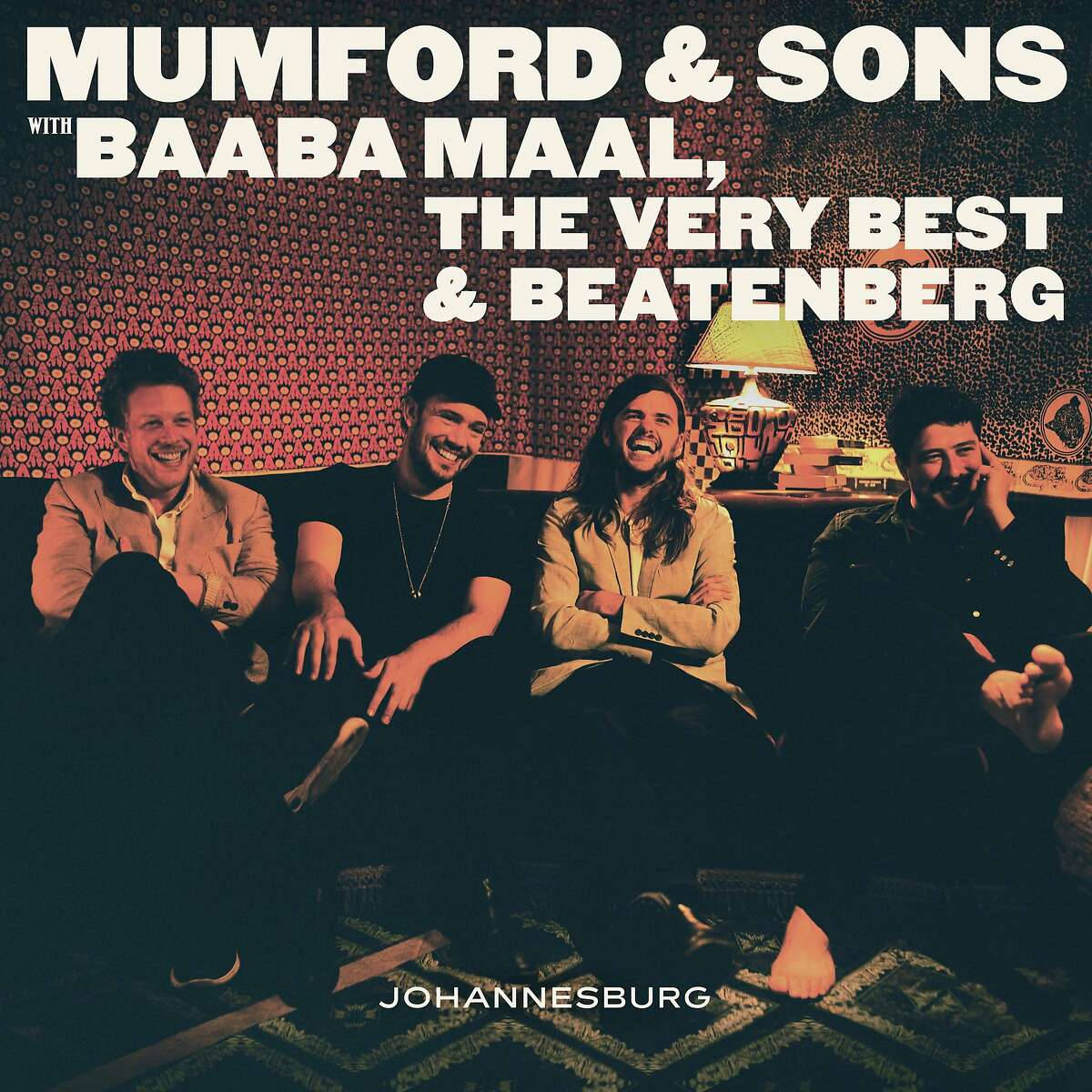 """This CD cover image released by Glassnote shows """"Johannesburg,"""" the latest release by Mumford & Sons. (Glassnote via AP)"""