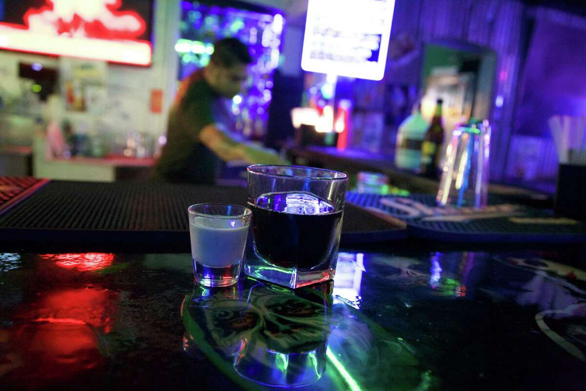 Horchata and Rootbeer shot available at Frankie Diablo's. Photos by: Xelina Flores