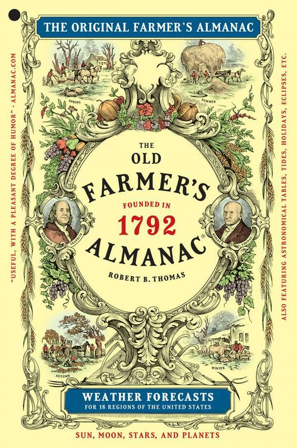 The Old Farmer's Almanac released weather predictions for the 2016-17 winter this week. Photo: Courtesy Old Farmers Almanac