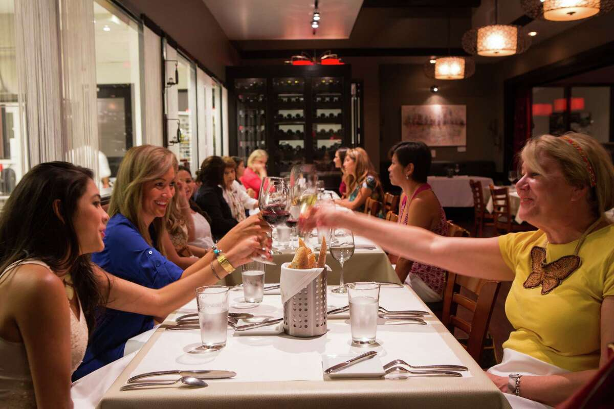 The Culinary Institute LeNotre has created Le Bistro, a restaurant formerly known as Kris Bistro. The restaurant will mark its grand opening on Aug. 20. Shown: Diners in the bistro.