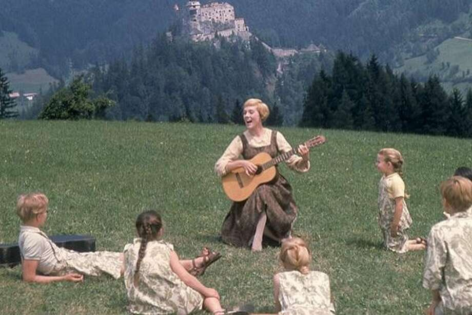 Sing along with Julie Andrews as Maria and the von Trapp kids.