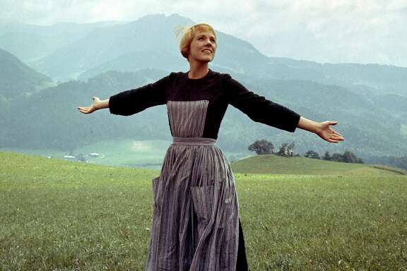 "Julie Andrews as Maria in ""The Sound of Music."" (Photo courtesy 20th Century Fox/TNS)"