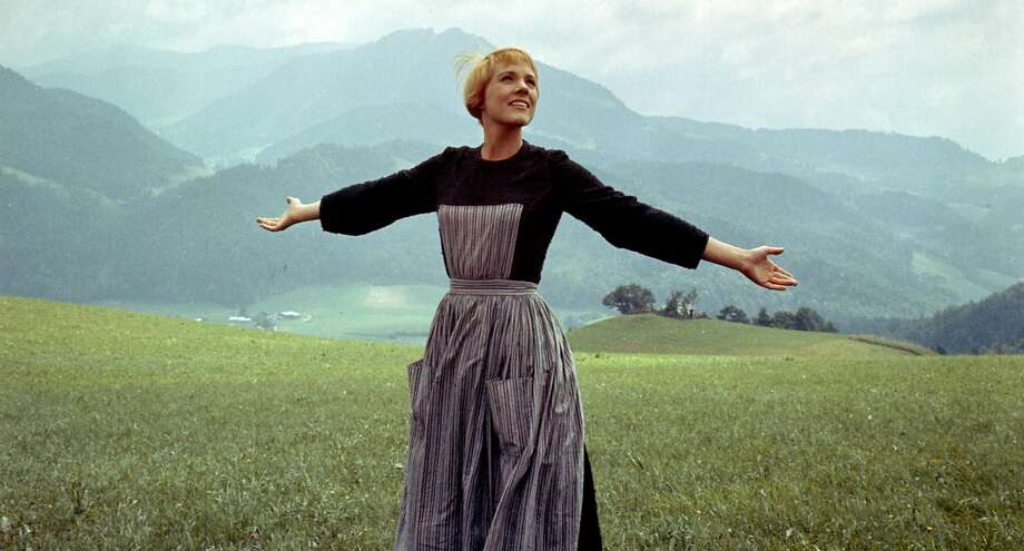 "Julie Andrews as Maria in ""The Sound of Music."" (Photo courtesy 20th Century Fox/TNS) Photo: Handout, McClatchy-Tribune News Service"