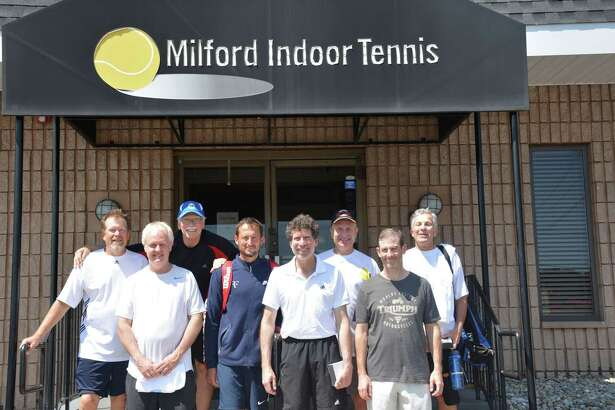 The Westport Whalers team, which plays out of the Kings Highway Tennis Club in Darien, went undefeated en route to the USTA sectionals berth. Team members include Shannon Bass from Darien, Tim Daley, Jeffrey Seymour, and Mark Alexander from Fairfield, Robert Cueva, and Jim Clark from Norwalk and Alan Kravetz from Westport.