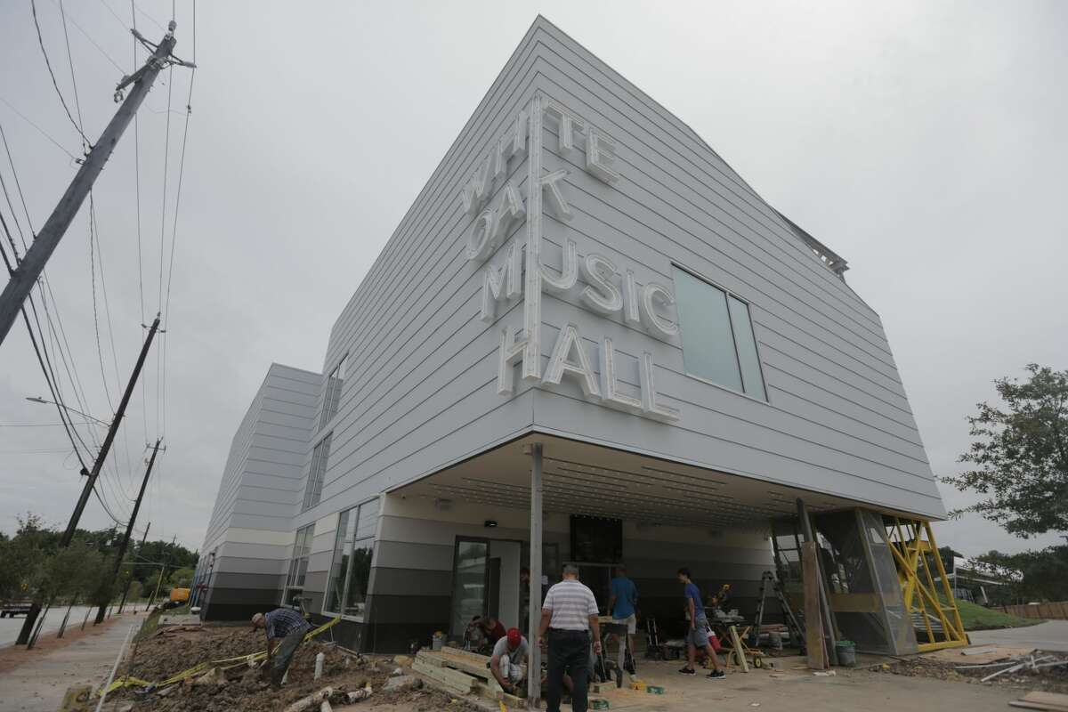 White Oak Music Hall is slated for it's grand opening to open this weekend in Houston. ( Elizabeth Conley / Houston Chronicle )