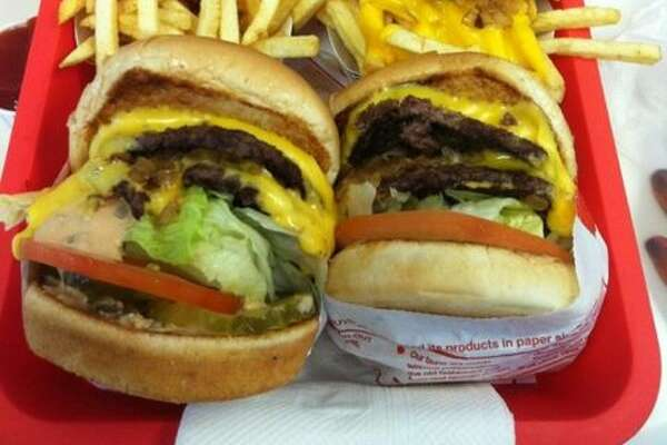 """California    In-N-Out Burger , Los Angeles   """"The best fast food burger joint ever period ever."""" - Foursquare user  Abi Panicker"""