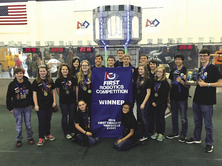 Ubly Robotics Team Competes Well At Districts Huron Daily Tribune