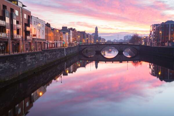 Dublin Ireland city skyline David Soanes Photography / Getty Images