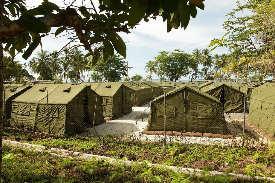 This detention center for migrants financed by Australia on Manus Island in Papua New Guinea has been criticized by the U.N. and human rights groups. Photo: AUSTRALIAN DEPARTMENT OF IMMIGRATION AND CITIZENSHIP, NYT