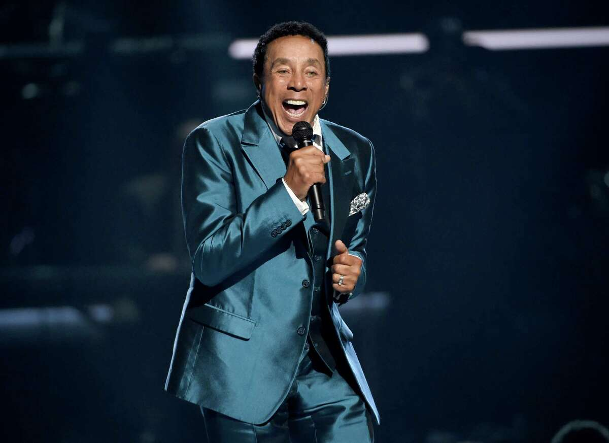 In this June 28, 2015, file photo, Smokey Robinson performs at the BET Awards in Los Angeles. Robinson will be honored by the Multiple Myeloma Research Foundation during its October fundraising gala.