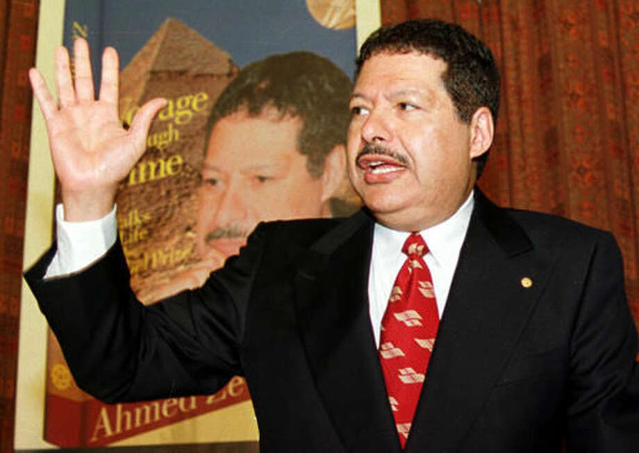 Egyptian Chemist Zewail Nobel Prize Winner Dies At 70