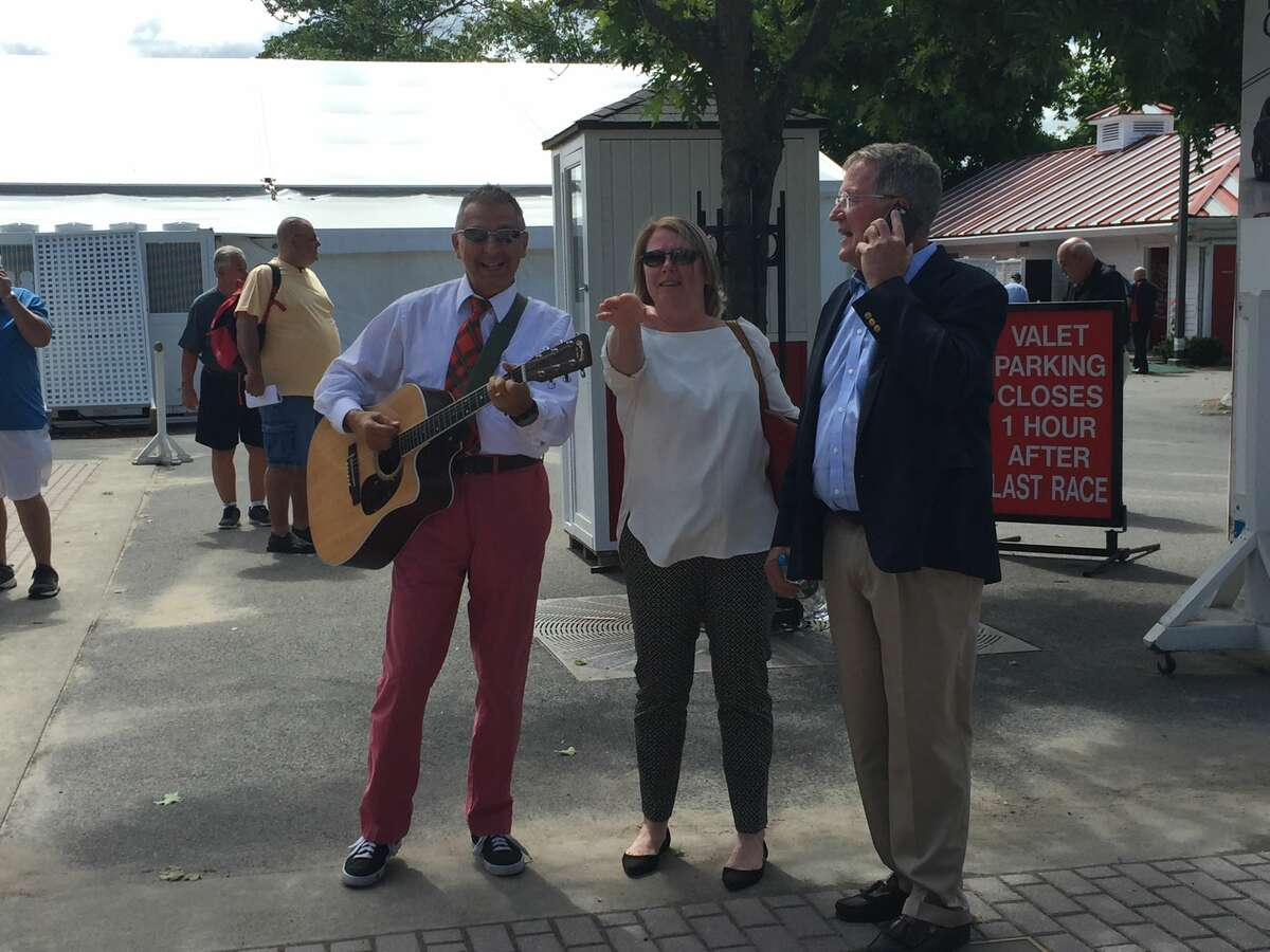 Were you Seen at Italian-American Day at the Saratoga Race Course in Saratoga Springs on Wednesday, Aug. 17, 2016?