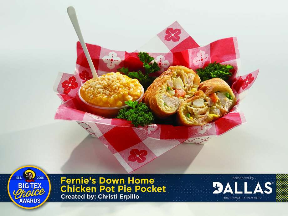 2016 Big Tex Award finalist: Fernie's Down home Chicken Pot Pie Pocket. Photo: State Fair Of Texas