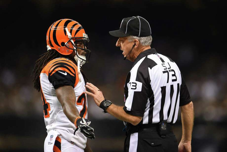 No argument about it: Two unsportsmanlike penalties in a game will be cause for automatic ejection this season. Photo: Stacy Revere, Stringer / 2014 Getty Images