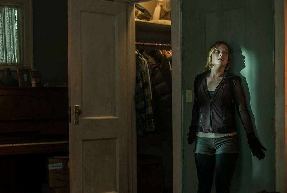 "This image released by Sony Pictures shows Jane Levy in a scene from ""Dont Breathe."" (Gordon Timpen/Sony/Screen Gems via AP) Photo: Screen Gems"