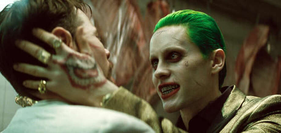 """This image released by Warner Bros. Pictures shows Jared Leto in a scene from """"Suicide Squad."""" (Warner Bros. Pictures via AP) Photo: Courtesy Of Warner Bros. Picture"""