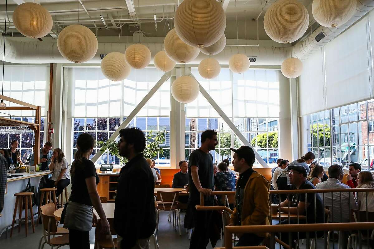 Tartine Manufactory is full of people during lunchtime in San Francisco, California, on Wednesday, Aug. 17, 2016.