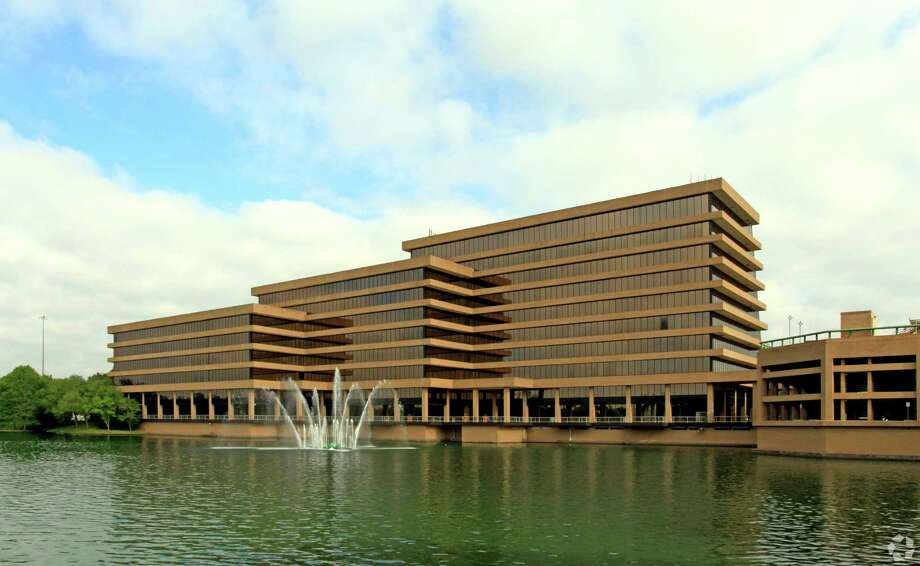 The Sugar Creek on the Lake building at 14141 Southwest Freeway in Sugar Land is being marketed for sale.