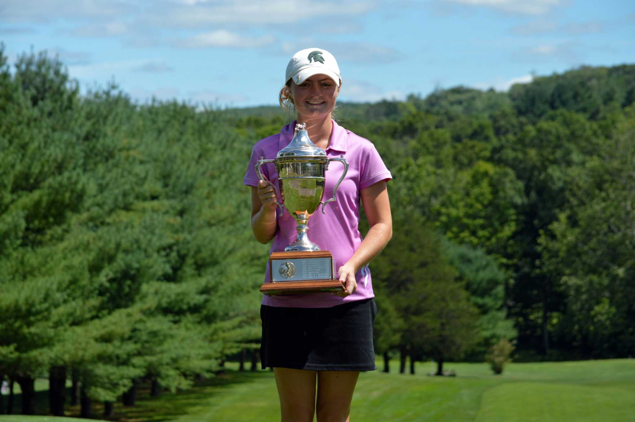 Innis Arden's Catherine McEvoy wins 2nd straight Connecticut Women's