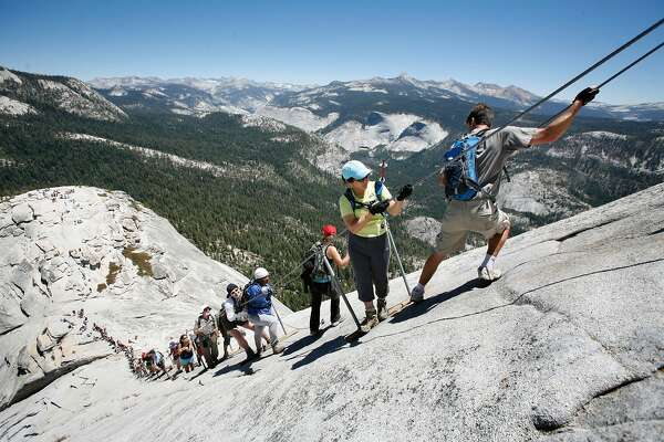 Yosemite's Half Dome summit to reopen to hikers with cable