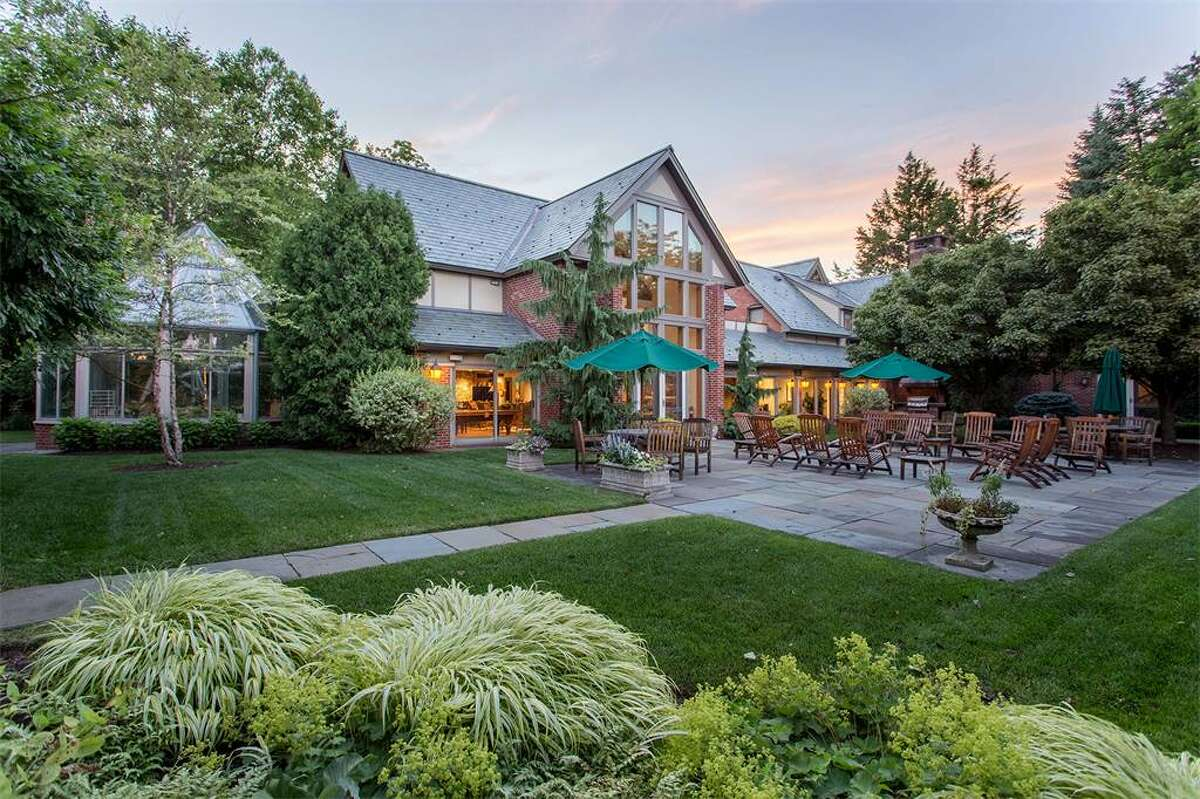 The Coach House on Woodlawn Avenue in Saratoga Springs is for sale for $1.9 million. Courtesy Select Sotheby's