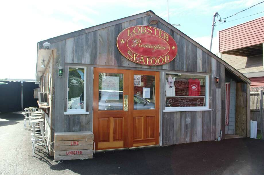 The Rowayton Seafood Market, which sits in an old lobster shack that was once the oldest operating lobster co-op on the Long Island Sound, offers its own take on the lobster roll as well as other fresh seafood offerings daily. Photo: Mark Saunders / Connecticut Post