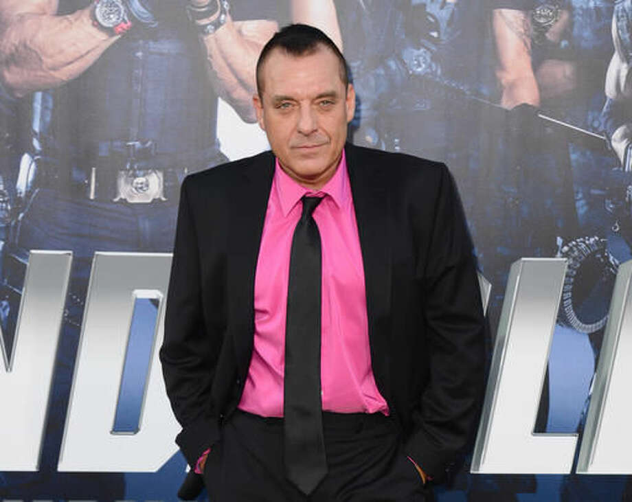 """FILE - In this Aug. 11, 2014 file photo, actor Tom Sizemore arrives at the premiere of """"The Expendables 3"""" in Los Angeles. Los Angeles County prosecutors on Friday, Aug. 5, 2016, rejected filing felony domestic violence charges against Sizemore over his July 19, 2016, arrest on suspicion that he harmed his girlfriend in their downtown Los Angeles apartment. The case may still be filed as a misdemeanor, but prosecutors cited the minor injuries involved as a reason felony charges would not be filed. (Photo by Jordan Strauss/Invision/AP, File) Photo: Jordan Strauss"""