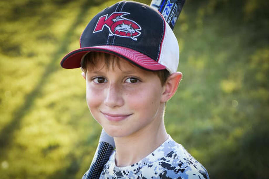 This June 2016 photo provided by David Strickland shows Caleb Thomas Schwab, the son of Scott Schwab, a Kansas state lawmaker from Olathe. Caleb died Sunday, Aug. 7, 2016, while riding the Verruckt, a water slide that's billed as the world's largest, at the Schlitterbahn Waterpark in Kansas City, Kan. (David Strickland via AP) Photo: David Strickland