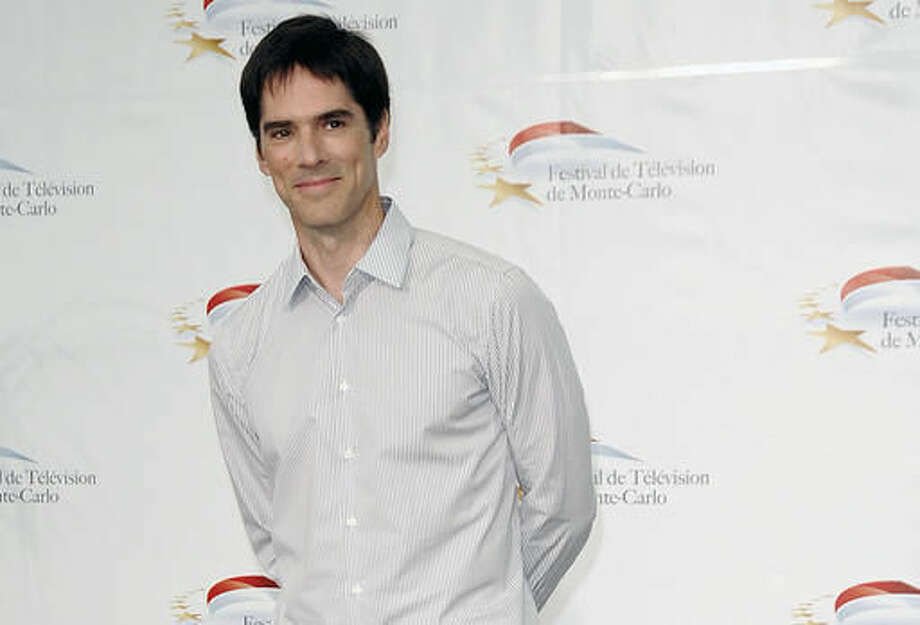 """FILE- In this June 8, 2011, file photo, actor Thomas Gibson attends the 51st Monaco Television Festival in Monte Carlo, Monaco. Gibson has been dismissed from the long-running CBS drama """"Criminal Minds."""" ABC Studios and CBS Television Studios, which produce the series, made the announcement Friday, Aug. 12, 2016, with no further details. (AP Photo/Christian Alminana, File) Photo: Christian Alminana"""