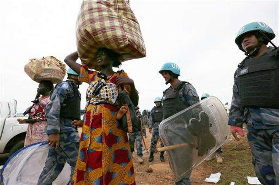 Foto tomada el 13 de julio del 2016 de fuerzas de paz de la ONU en Sudán del Sur. Foto difundida por la Misión de la ONU en ese país. (Eric Kanalstein/UNMISS via AP) Photo: Eric Kanalstein