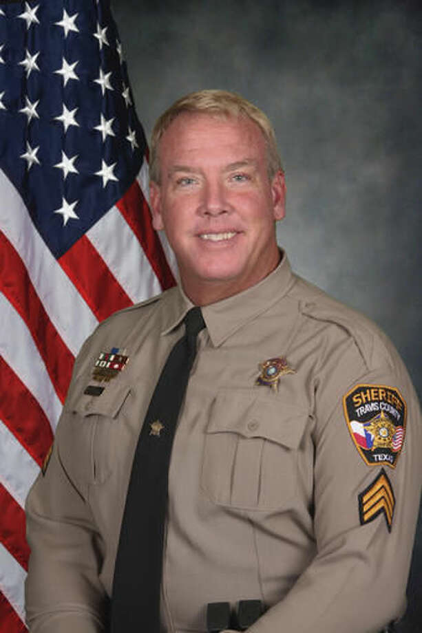 FILE - This file photo provided by the Travis County Sheriff's Office, shows Sgt. Craig Hutchinson, who was found dead Monday, July 25, 2016, in Round Rock, Texas. Investigators have determined that Hutchinson killed himself after notifying dispatchers of prowlers in his yard. Authorities said at a news conference Friday, Aug. 12, 2016 that Hutchinson was suffering from depression and facing foreclosure on his home and other financial pressures. (Travis County Sheriff's Office via AP File) Photo: HOGP