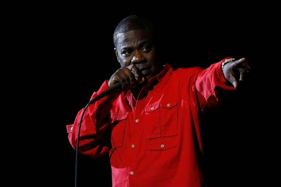 NEW YORK, NEW YORK - APRIL 01:  Tracy Morgan performs during Hot 97 Presents April Fools Comedy Show at The Theater at Madison Square Garden on April 1, 2016 in New York City.  (Photo by John Lamparski/Getty Images)