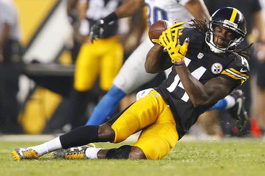 Pittsburgh Steelers wide receiver Sammie Coates (14) fails to come up with a catch against the Detroit Lions during the first half of an NFL preseason football game in Pittsburgh, Pa, on Friday, Aug. 12, 2016. (AP Photo/Jared Wickerham) Photo: Jared Wickerham