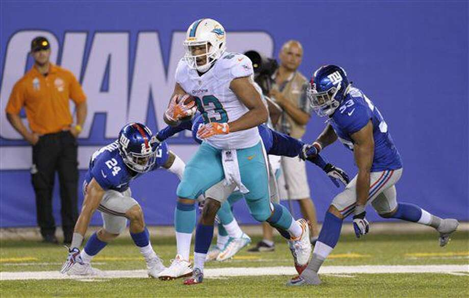 f86f7414 Nassib stumbles in start for Manning, Dolphins win 27-10 - Huron ...