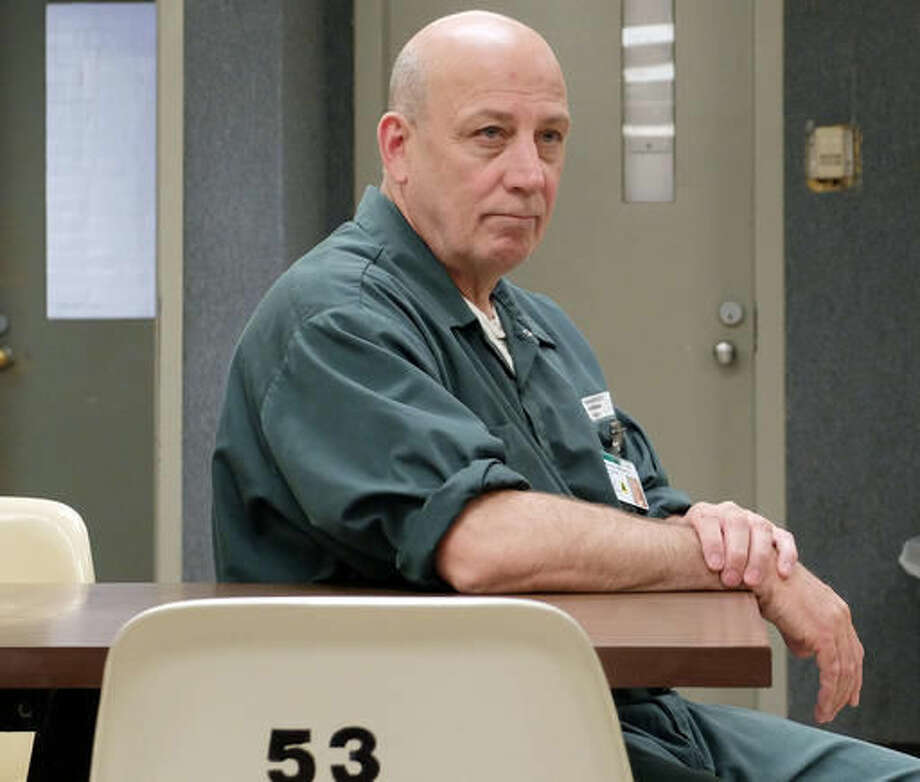 Mike Millette sits in the visitors center at the state prison in Concord, N.H., on Tuesday, May 31, 2016. Millette's friend, Ed Martin III, had been found dead in the bathroom of a convenience store, slumped over on his knees with a needle and a residue-stained spoon in his pocket. He'd mainlined fentanyl, an opioid up to 50 times more powerful than heroin. Martin's overdose would bring tears to his eyes. But he was scared, too. He was his dealer, the man who'd sold him his final fix. (AP Photo/Jim Cole) Photo: Jim Cole