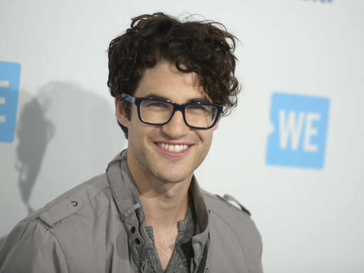 FILE - In this April 7, 2016 file photo, Darren Criss arrives at WE Day California at the Forum, in Inglewood, Calif. Criss will participate in the second annual Elsie Fest, a one-day outdoor music festival celebrating theater stars, is set for Sept. 5 at the 5,000-seat Ford Amphitheater. (Photo by Richard Shotwell/Invision/AP, File)