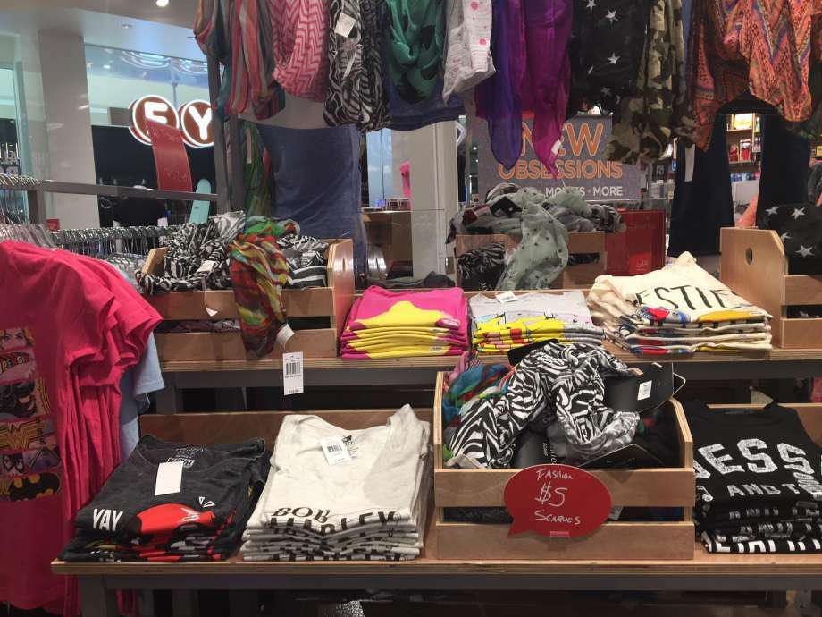 The f.y.e. store in Crossgates Mall is part of a shift by Trans World Entertainment to sell more trend items such as clothing rather than just music and videos. Times Union archive