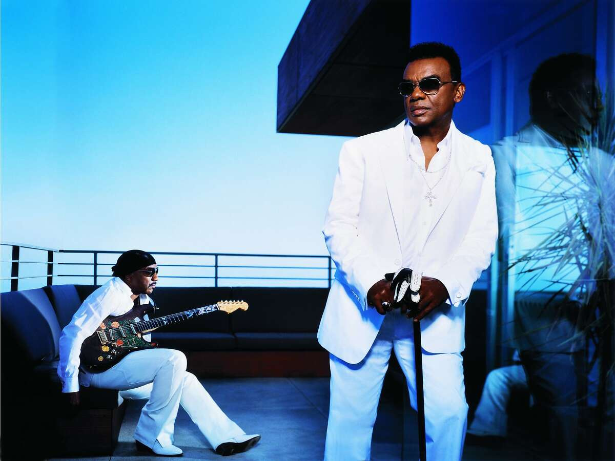 Isley Brothers: Ernie (seated) and Ron