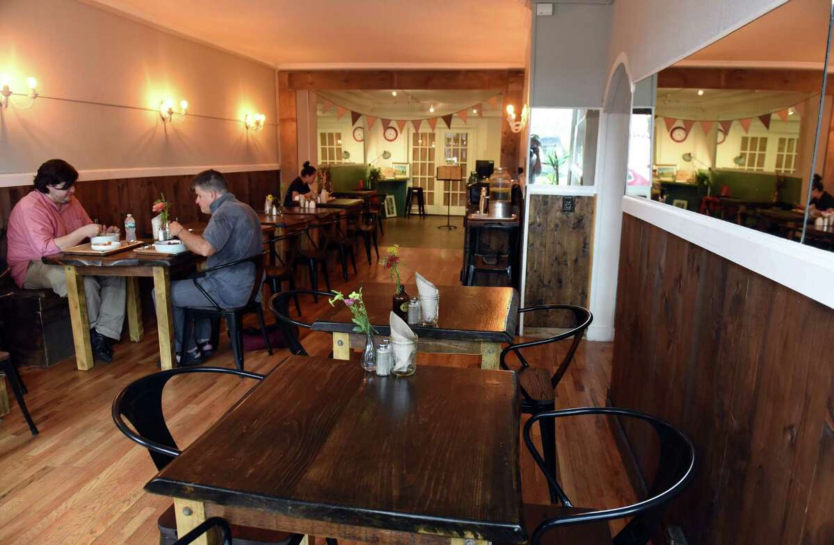 Sunhee's Farm & Kitchen at 95 Ferry Street on Friday Aug. 12, 2016 in Troy, N.Y. (Michael P. Farrell/Times Union)