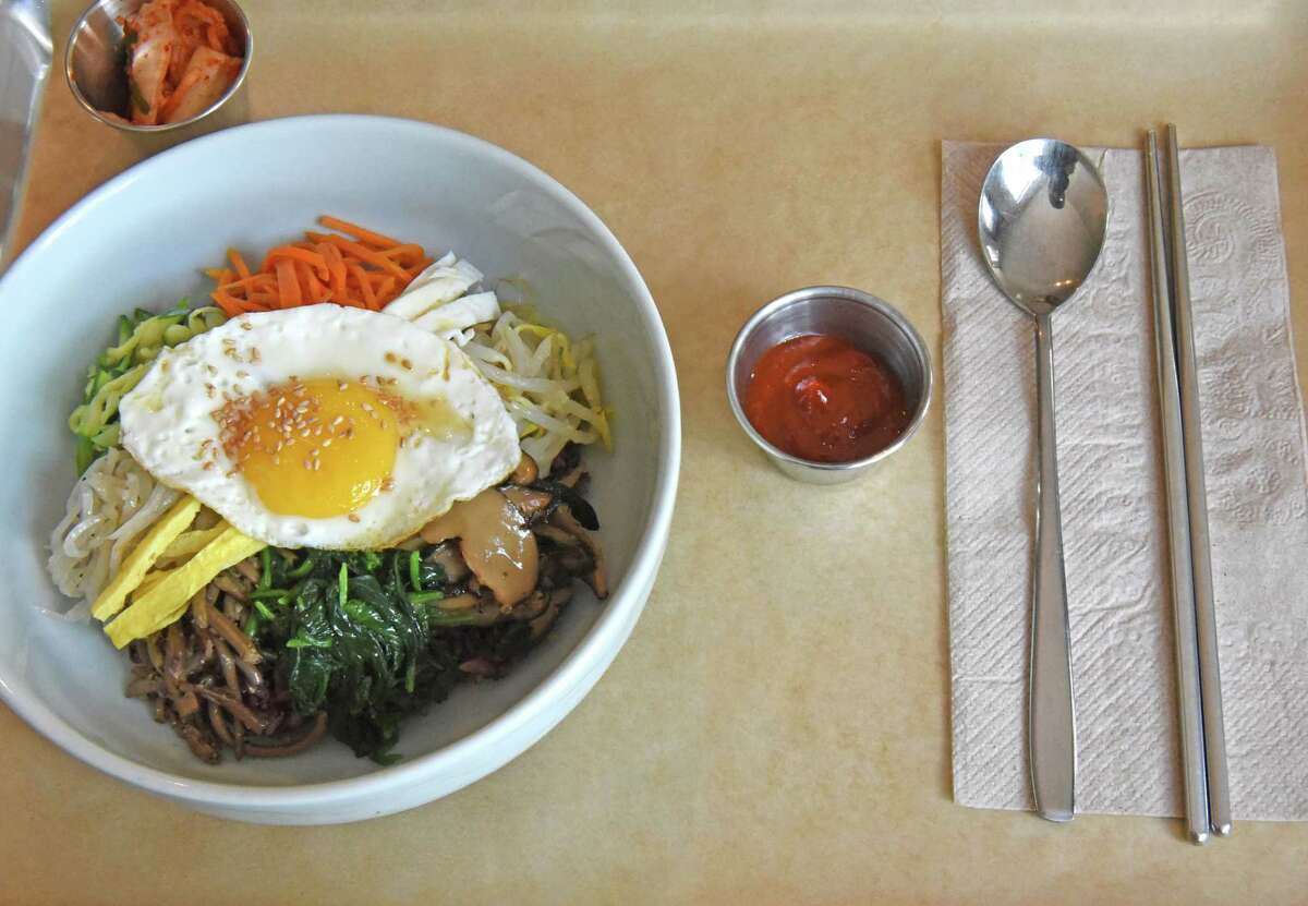 Korean : Sunhee's Farm & Kitchen, 95-97 Ferry St, Troy. Read our review of this restaurant here.